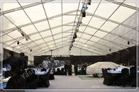 Sturdy Aluminum Frame Wedding Reception Marquee / Outside Party Tents For Rent