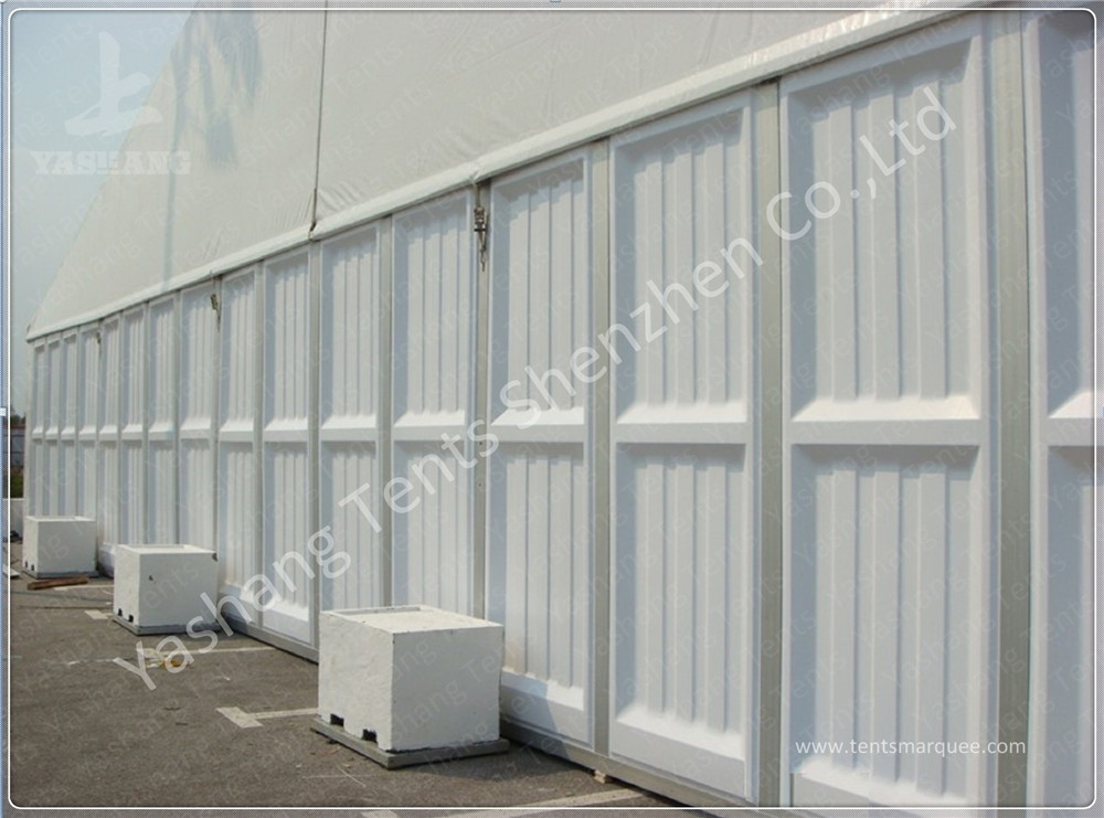 Waterproof Outdoor Event Tent Fittings Glass Wall / ABS Wall / Corrugated Sheet Wall
