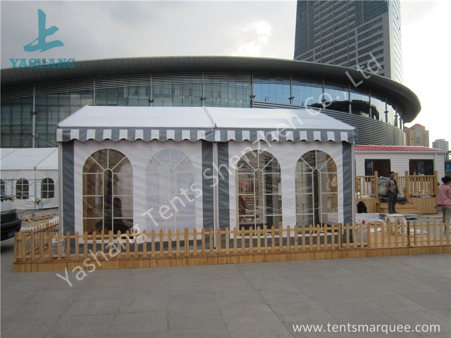 UV Resistant Small Size PVC Fabric Tent Structure for Movable Hotel