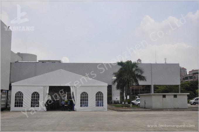 8M Ultra High Professional Outdoor Warehouse Tents , Large Industrial Tent Rental